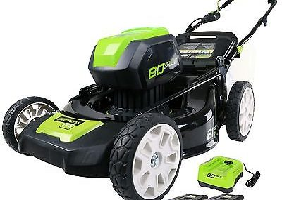 Does The Greenworks Lawn Mower Pro GLM801602 Work As Advertised?